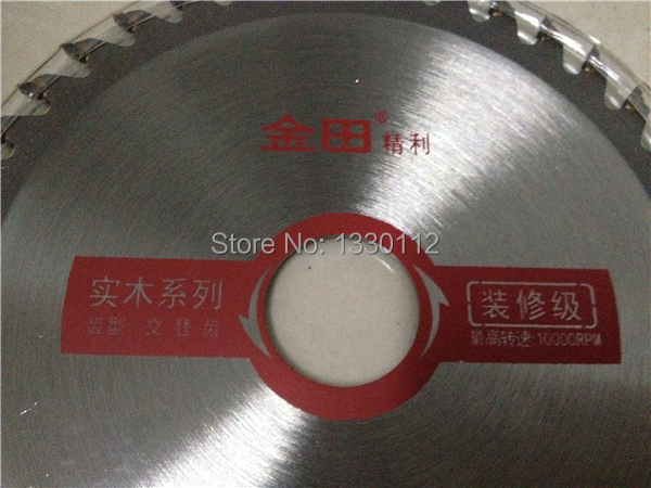 High quality 1 pcs 5 40T wookworking TCT saw blade disc for cutting wood professional type