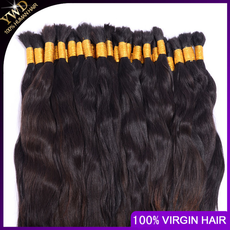 Factroy price 18inch virgin nature braid bulk hair /raw remy bulk hair hot sale in USA and EU<br><br>Aliexpress