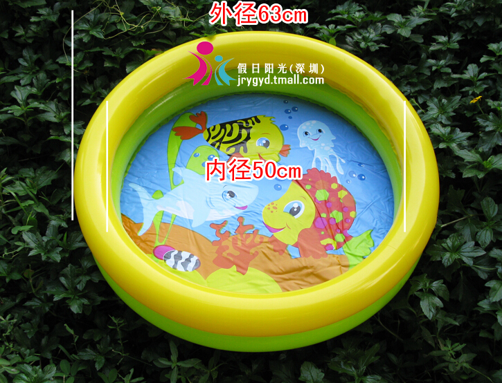 intex baby inflatable swimming pool children's pool kid's piscina,size 61*61*15cm,include repair patch,free shipping(China (Mainland))