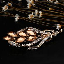 Crystal Vintage Dragonfly Gadis Bunga Bros untuk Wanita Serangga Besar Bros Pin Fashion Gaun Mantel Aksesoris Lucu Perhiasan(China)