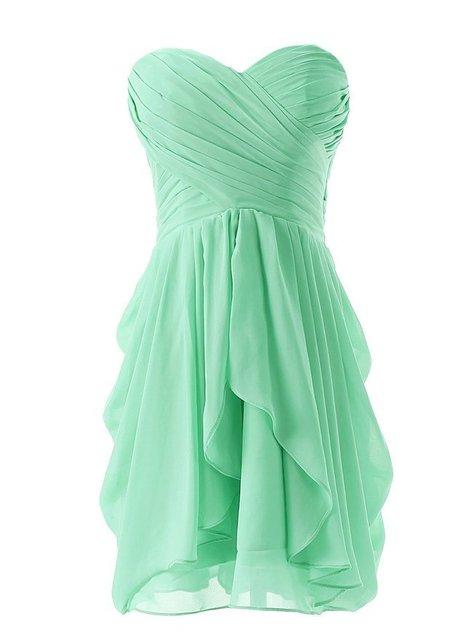 Реальный образец дешевые девушка короткие милая невесты платья Pleat линии оборками ...