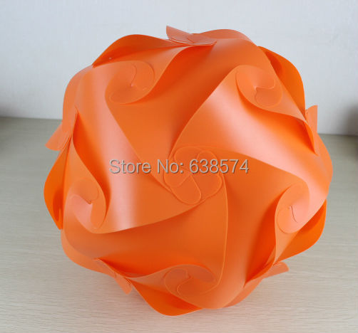 Free shipping 50 sets Hot sell Puzzle Lights / IQ jigsaw Lampshade D400mm large size 30 pcs kit