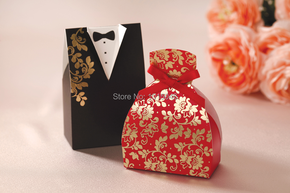 Chinese Wedding Gift For Groom : 100 Creative Bride & Groom Candy Box Wedding Favor Boxes Gift ...