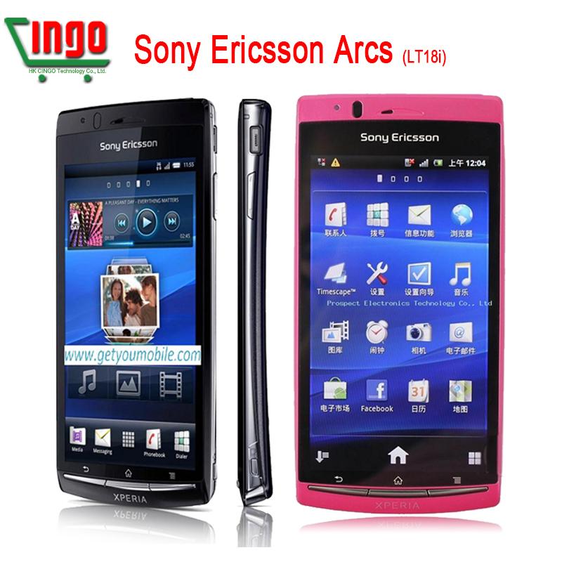 Original Sony Ericsson Xperia Arc S LT18i unlocked Mobile Phone 3G WIFI A-GPS 4.2 TouchScreen 8MP Camera handsets(China (Mainland))