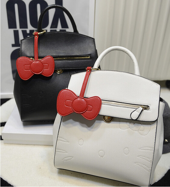 Fashion Cute Bow Belt Shoulder Bag Backpack Fashion BOW