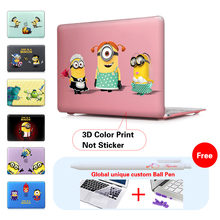 Girl & Maid Minions Computer Bag For Apple Mac Macbook Pro 15 For Macbook 12 Inch Case + Silicone Keyboard Cover A1466