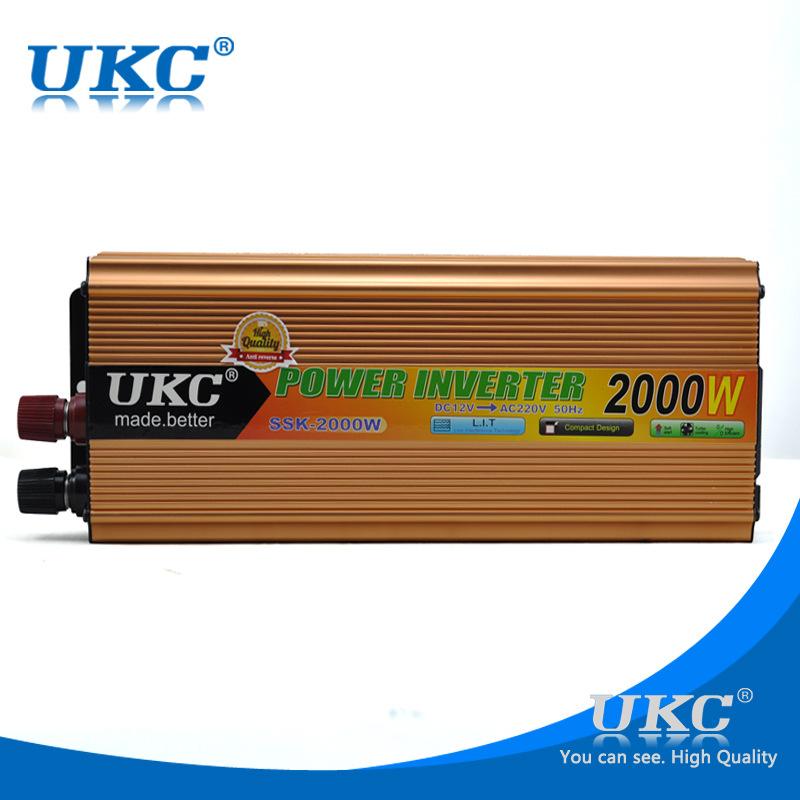 Inverter omformer 2000w 12 220