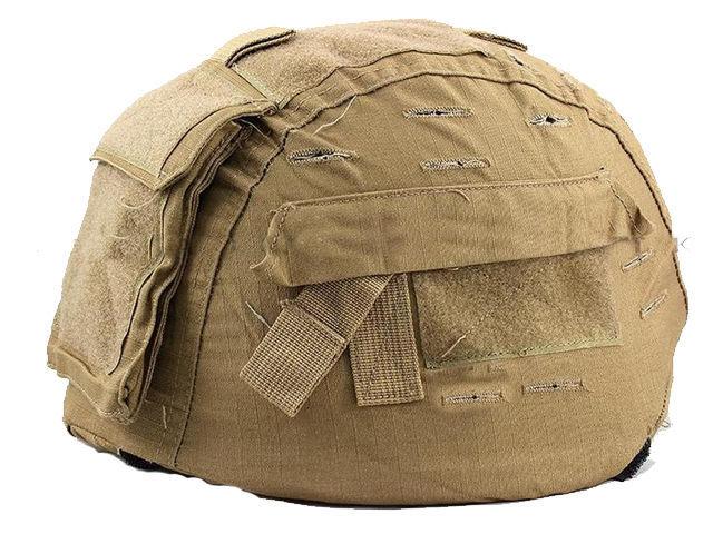 Paintball Military Tactical MICH 2000 Airsoft Helmet Cover Tan(Hong Kong)