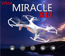 New rc drone helicopter syma X13 stormy 2.4G 4CH 6-Axis quadcopter With 3D Flips remote control toy free shipping