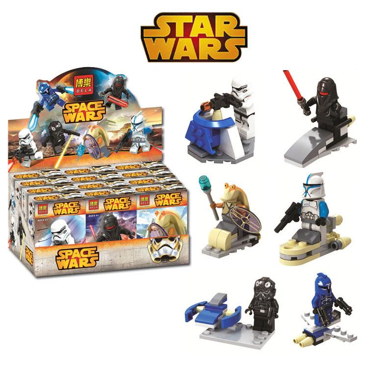 2016 New Decool 6Pcs Star Wars 7 The Force Awakens Minifigure Building Blocks Set Model Bricks Toys Gift Compatible With Legoe<br><br>Aliexpress
