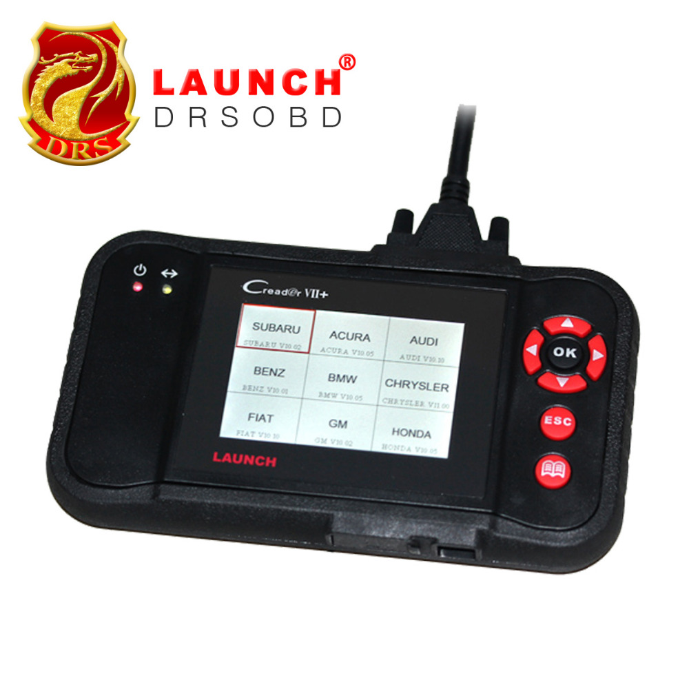 100% Original Auto Scanner Launch Creader Professional Creader vii+ Support 4 Systems Engine,Transmission,ABS,Airbag(China (Mainland))