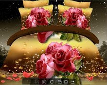 ANN/a nice night new product  3d be set queen size bedding sets duvet cover set bed sheet(China (Mainland))