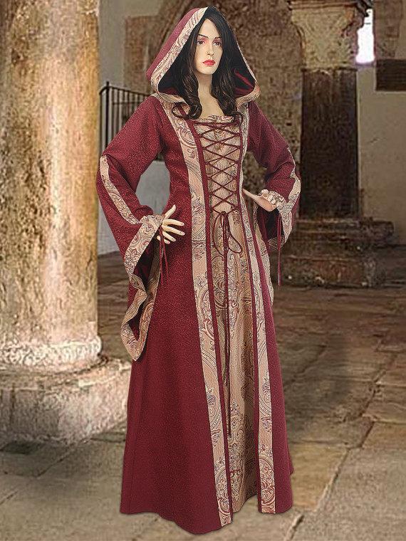 Medieval Dress Maid Marian Costume Tavern Maid Îäåæäà è àêñåññóàðû<br><br>