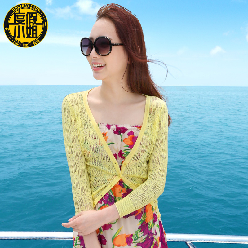 2015 spring female sun protection clothing outerwear cardigan thin long-sleeve cape air conditioning shirt - jacket .jackets store