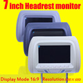 7 inch car monitor headrest monitor lcd color monitor display automobile head pillow styling player Brand