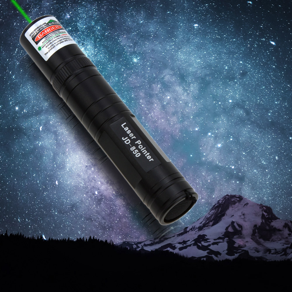 JD-850 Multipurpose 1000mW High Power 532nm Green Light Laser Pointer Pen Flashlight 1500M Ultra-long Light Visibility 2016 NEW(China (Mainland))