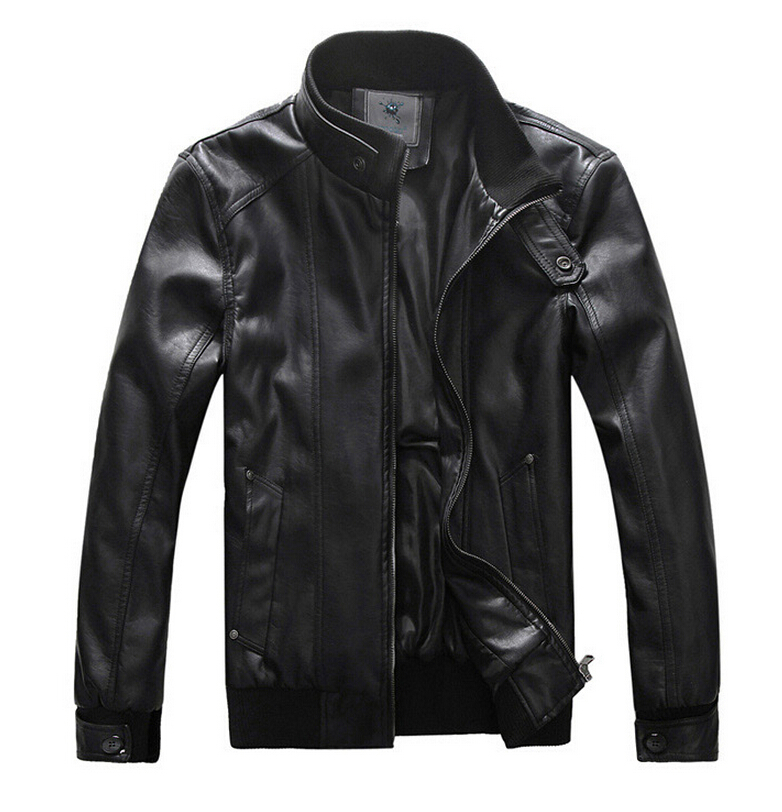 Spring Motorcycle Leather Jacket Men Plus Size 5xl Luxury Top Import Pu Mens Leather Jackets ...