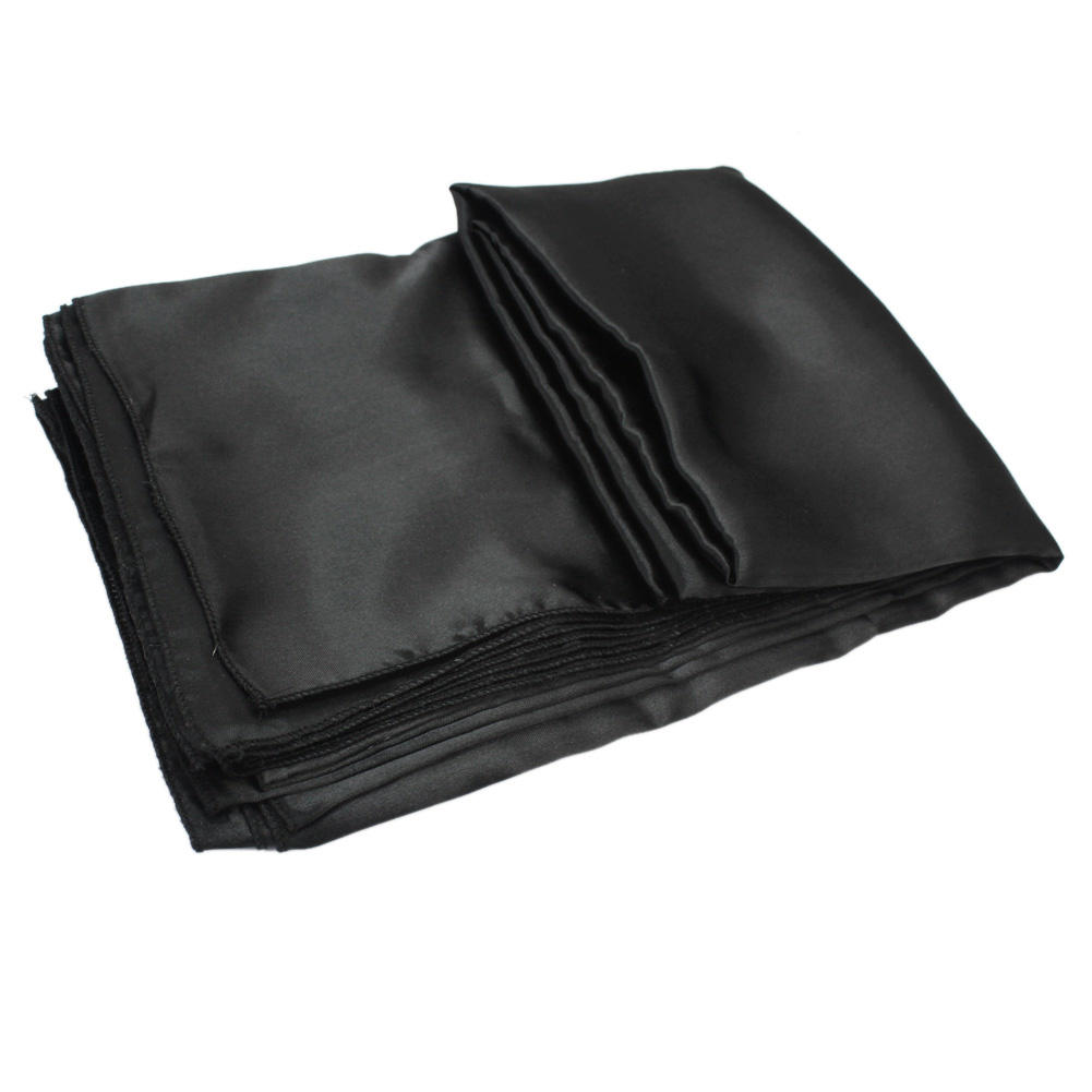 Tablecover Black Satin Table Cloth Party Events Catering Weddings Party Banquet Home Restaurant Supplies(China (Mainland))