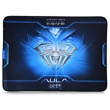 Soft Surface Design High Quality Mouse Pad Aula Coat Armor Style Rubber Gaming Mouse Pad Anti-skid Mat for Home Office(China (Mainland))