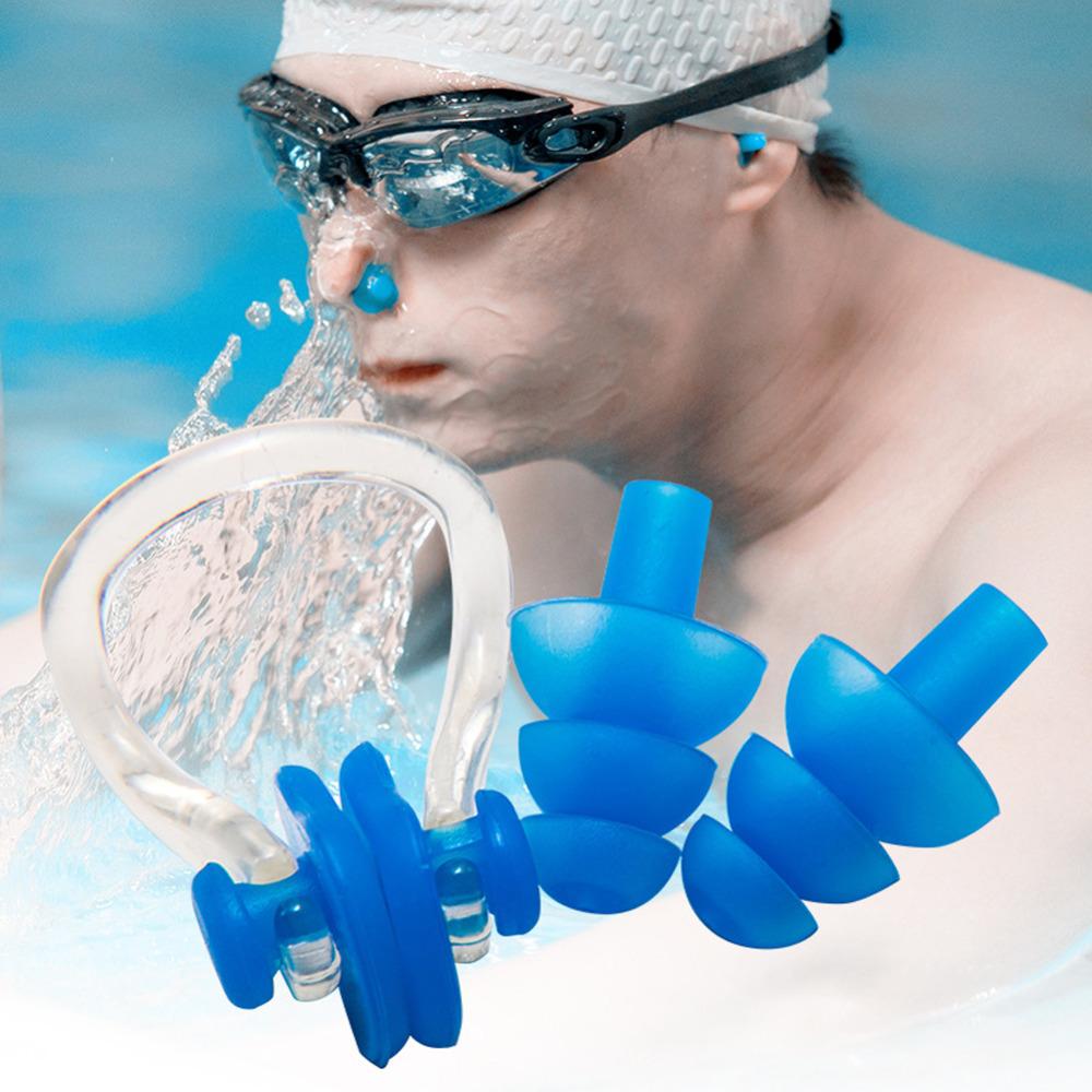 Bouchons d 39 oreilles de natation promotion achetez des for Bouchon oreille piscine