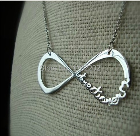 Sunshine jewelry store one direction 1D and infinity necklaces & pendants(China (Mainland))