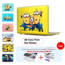 Minion Despicable Me 2 Hard Plastic Laptop Case For Mac Book Pro 13 Cover 13.3 13″ Inch Case For Laptop Cover Apple Macbook Pro