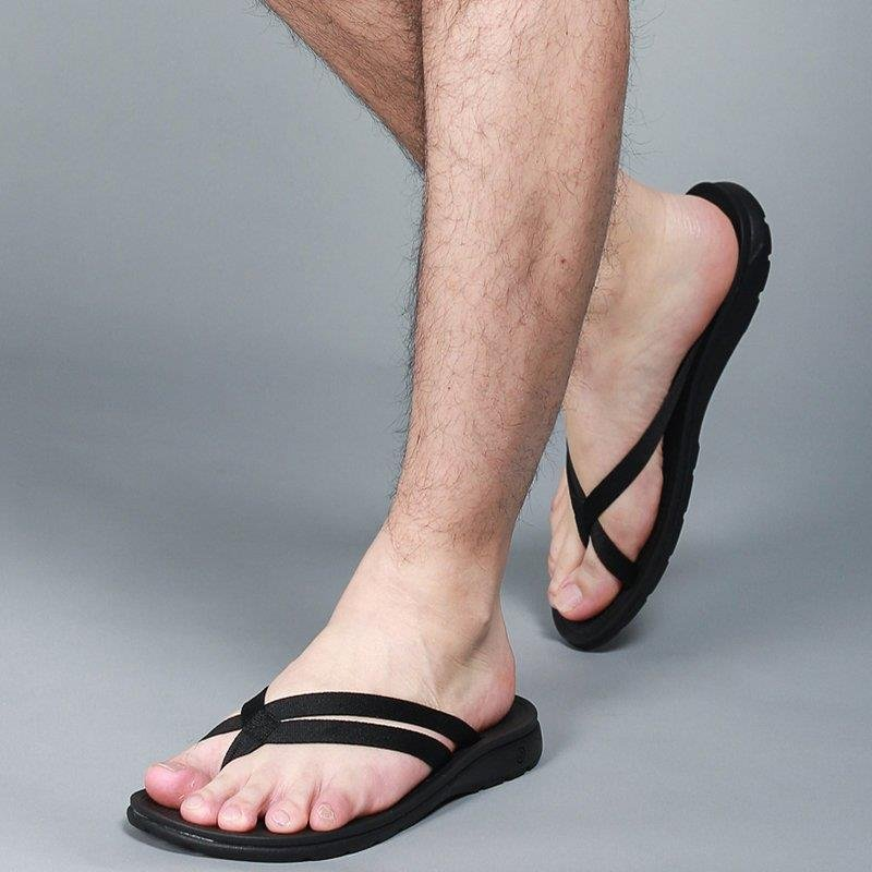 Men s sandals male slippers summer sandals casual slip shoes male Vietnam sandals female Korean couple