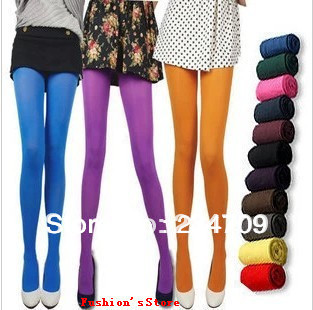Free shipping,hot sell! new Women's Sexy  Opaque Stockings Pantyhose  80D Wholesale ventilate velvet candy  tights,1 pcs/lot