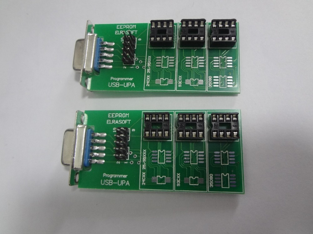 Free Shipping 10pcs lot eeprom adapter for upa usb programmer