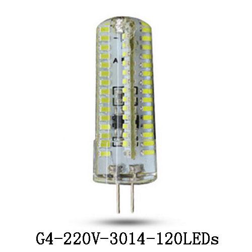 Гаджет  1x G4 LED Lamp Silicone 9/12/15W 72/120 led Crystal Kitchen Fridge Tube Light Indicator Desk Reading Corn Bulb Support Dimmer None Свет и освещение