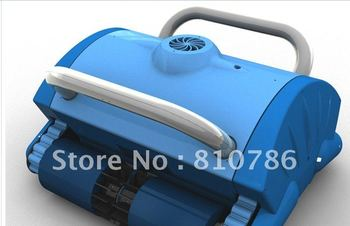 Free Shipping 2012 New Brand Robot Swimming Pool Cleaner with 70micron Filter Bag Porosity,24DV Motor Voltage,Cable 20m,