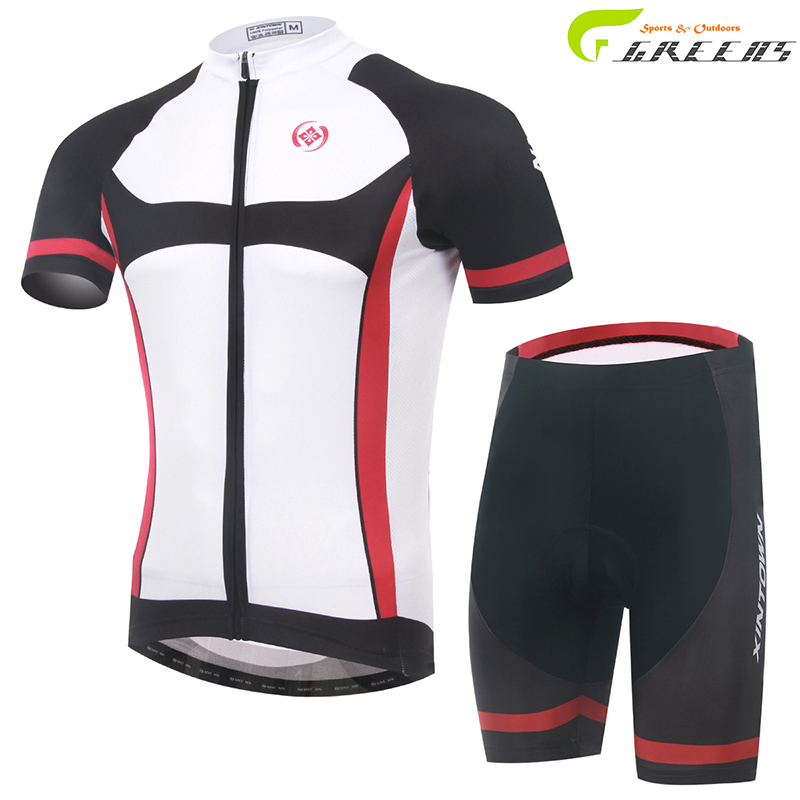 Gurensye brand Cycling clothing racing men Summer maillot ciclismo Bike Sportswear Short Sleeve Cycling jersey Bicycle(China (Mainland))