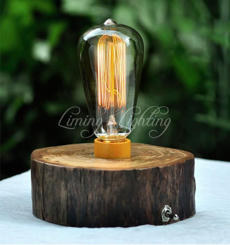 Vintage Edison Bulbs E27 Straight Incandescent ST64 Filament Bulb Squirrel-cage Carbon Bulb Retro Edison Light For Pendant Lamp