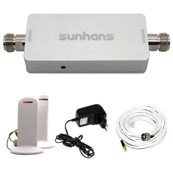Free shipping Sunhans booster 3G 900MHz Mobile Phone Repeater Booster Amplifier SH-G900-M2(China (Mainland))