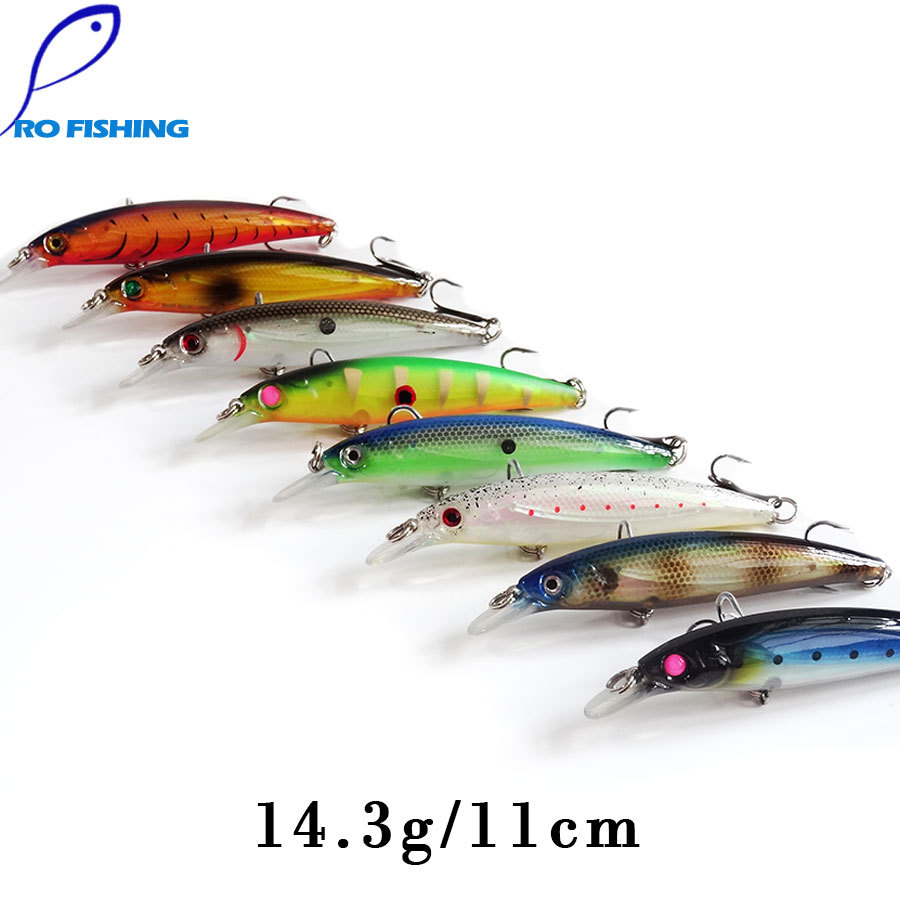Pesca artificial bait 11cm trout minnow carp fishing for Japanese fishing lures