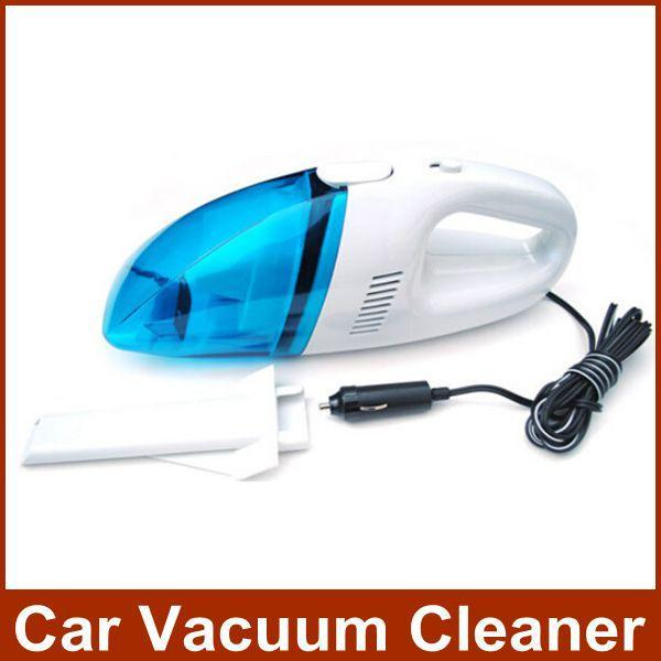 Mini Portable Car Vacuum Cleaner Cleaning Dry Wet Amphibious Automobile Dust Collector Free Shipping(China (Mainland))