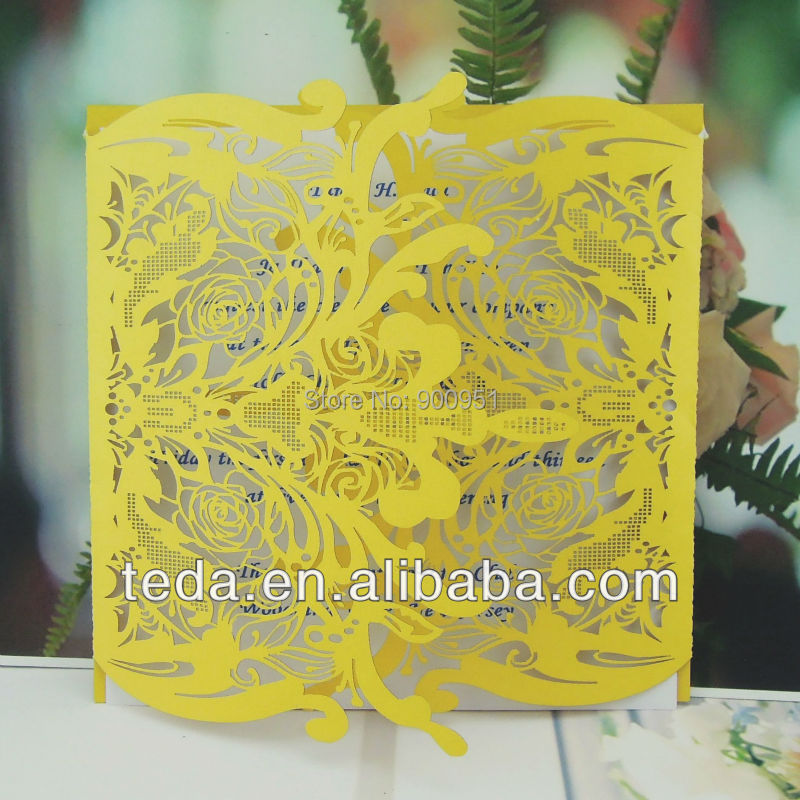 Pretty design wedding invitation Card,updated wedding invitation card,Christian wedding cards(China (Mainland))