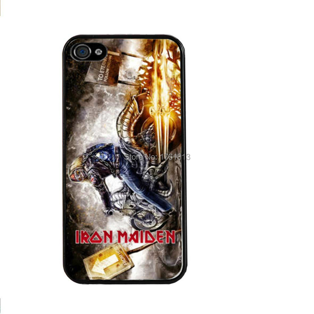 Iron Maiden Heavy Metal Band Phone case for Iphone 4 4s 5 5s 5c 6 6plus Samsung galaxy A3 A5 A7 S3 S4 S5 Mini S6 Edeg Note 2 3 4(China (Mainland))