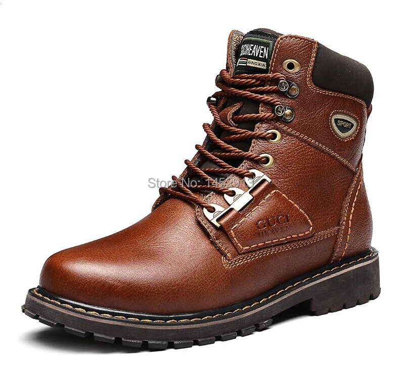 Cheap Leather Work Boots - Boot Hto