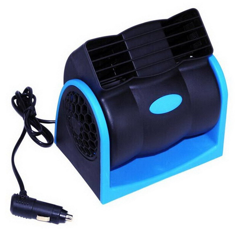 Popular Car Vehicle Truck Cooling Air Fan 12V Adjustable Silent Cooler Speed New Free Shipping(China (Mainland))