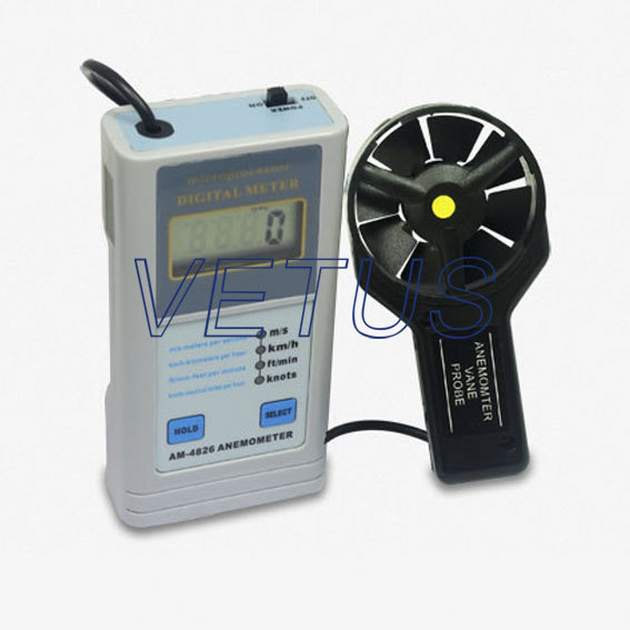 Фотография AM4826 Multifunctional Air Flow Speed Anemometer Free Shipping