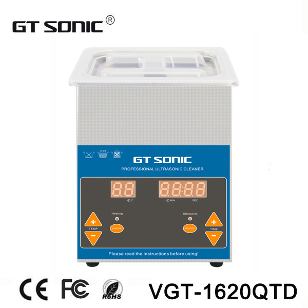 2L Industrial ultrasonic cleaner for filter injector cleaning and parts cleaning with timer and heater 110V, 220V VGT-1620QTD(China (Mainland))