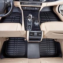 Особое автомобиль минимальный уровень для B5 прочный водонепроницаемый кожа ковры для всех автомобиль