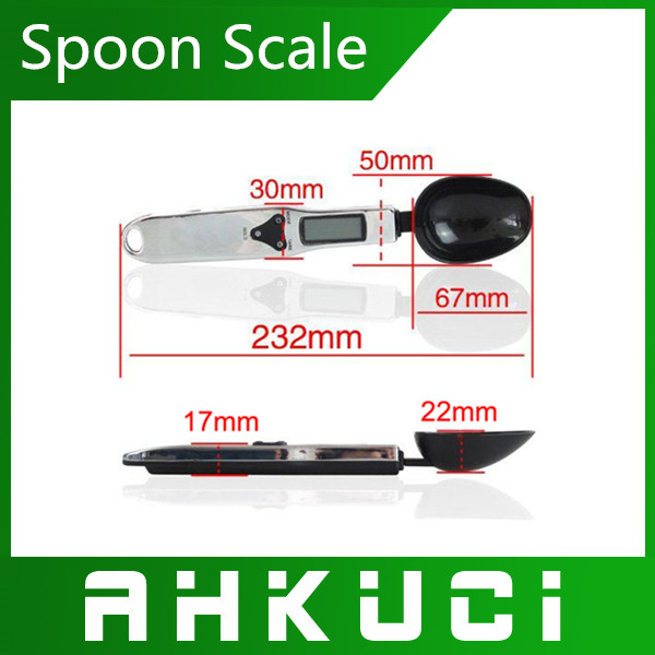 2pcs/pack  New LCD 300g/0.1g Digital Innovative Spoon kitchen Scales,Spoon Scale Gram Kitchen &amp; Lab Scale + Free Shipping<br><br>Aliexpress