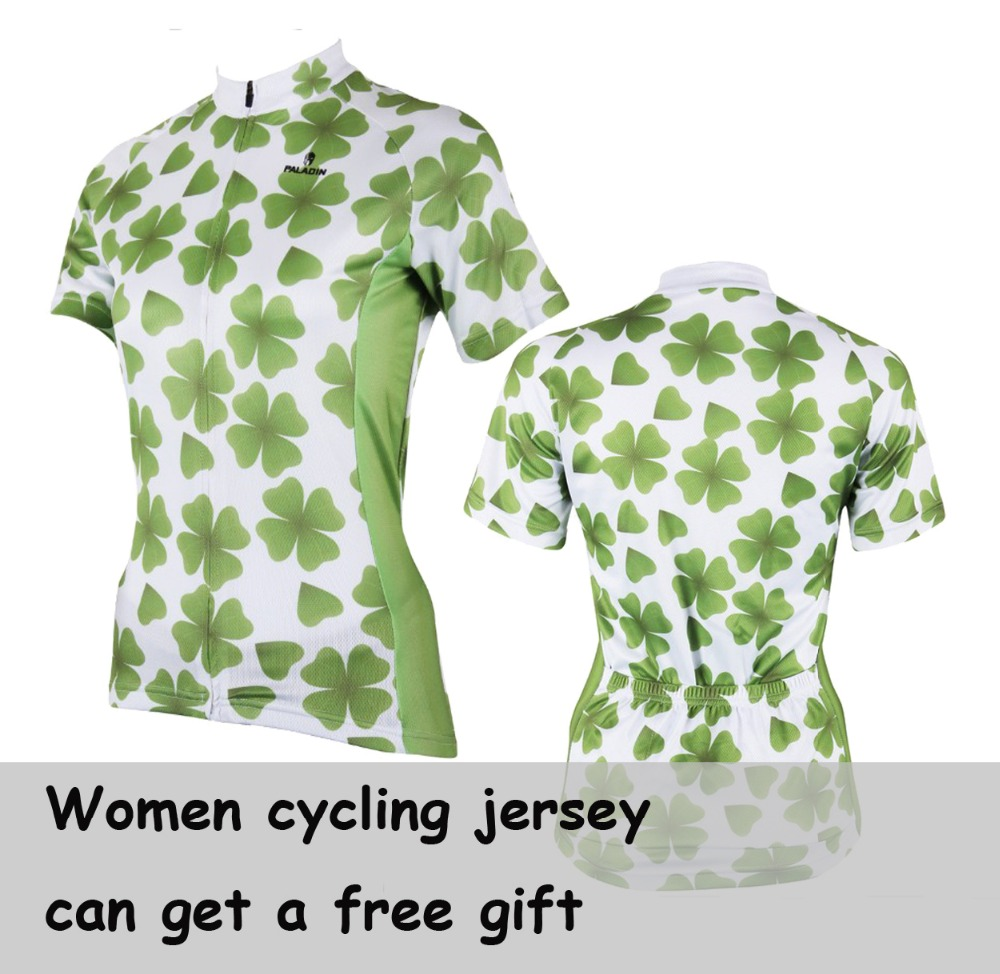 Paladin Bicycle Short Sleeve Shirt Mtb Sports Biciclela Clothing Ciclismo Mountain Bike Clover Bears Cycling Jersey for Women(China (Mainland))