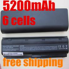 5200MAH 6CELLS NEW Laptop Batteries for HP Pavilion G4 G6 G7 CQ42 CQ32 G42 CQ43 G32 DV6 DM4 430 Batteries 593553-001 MU06