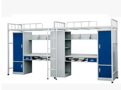 High and low bed bunk bed site staff dormitory bed flat students iron manufacturers selling(China (Mainland))