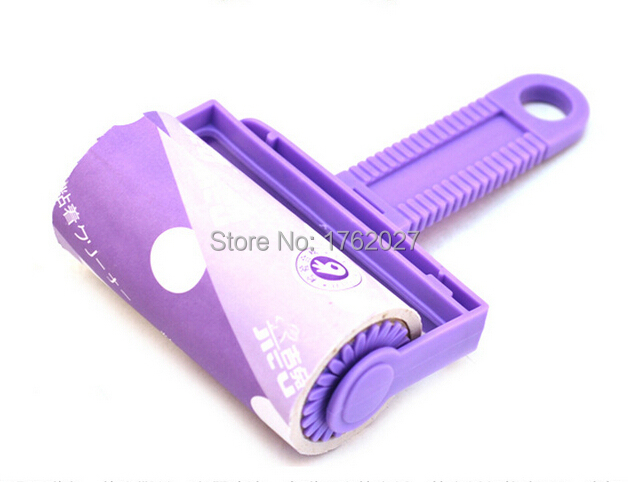 Retail drum self-adhesive type of clothing dust collector paper sticky paper hair removal roller F0579(China (Mainland))