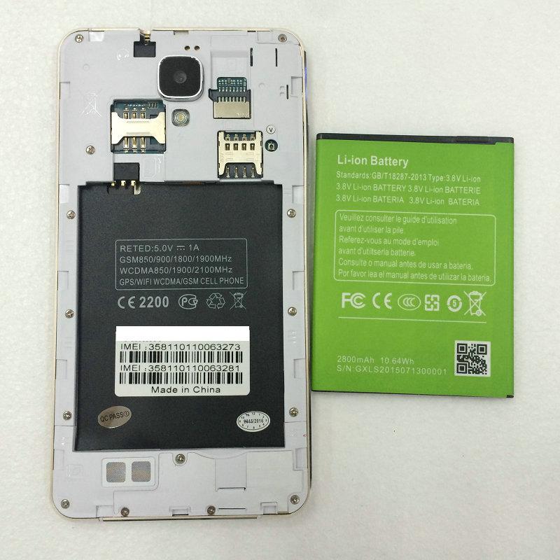 In stock mizo i9 plus original battery 2500mAh for MIZO I9 Plus MTK6592 octa core 5.5 inch mobile phone(China (Mainland))