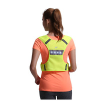 Motorcycle Safety High Visibility Reflection Vest Cycling Outdoor Running LED Vest Harness Reflective Belt Safety Jacket(China (Mainland))
